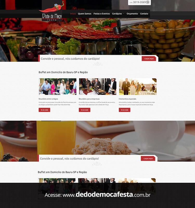 Portfolio Site Dedo de Moça