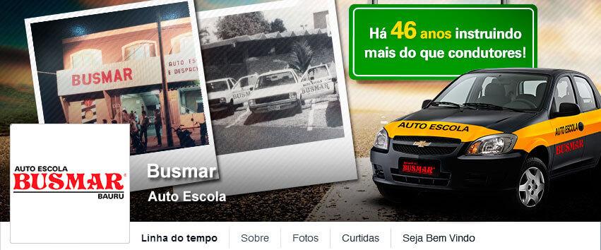 Busmar – Divulgar no Facebook Criar Fanpage agencia de publicidade digital facebook para empresas bauru