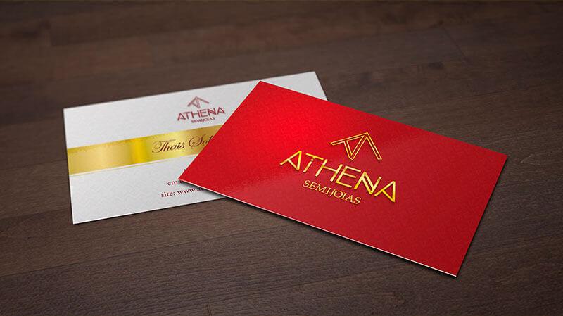 Portfolio Identidade Visual Athena Semijoias