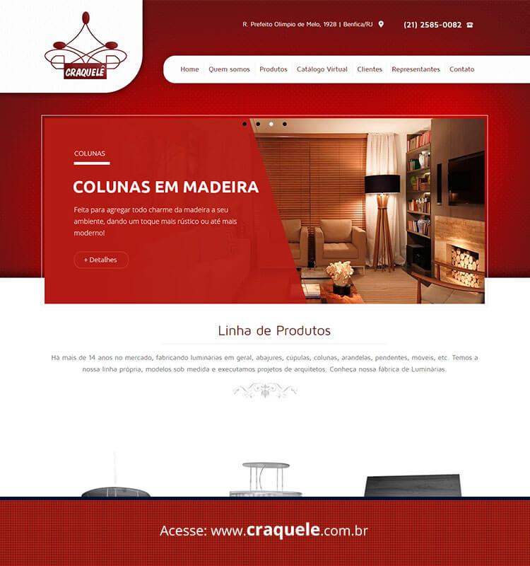 Portfolio Site Craquelê