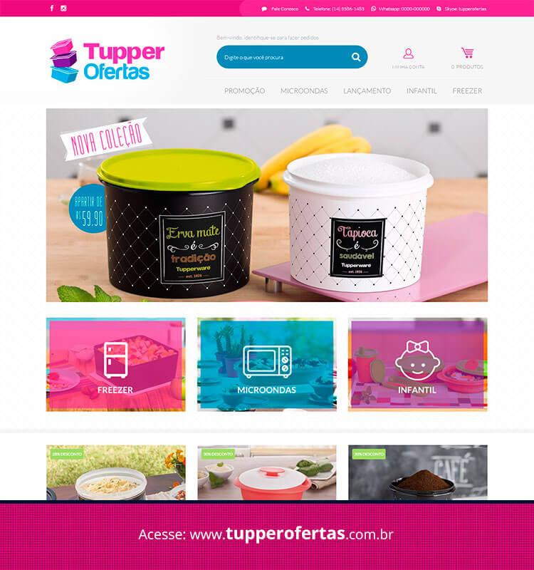 Portfolio Site Tupper Ofertas