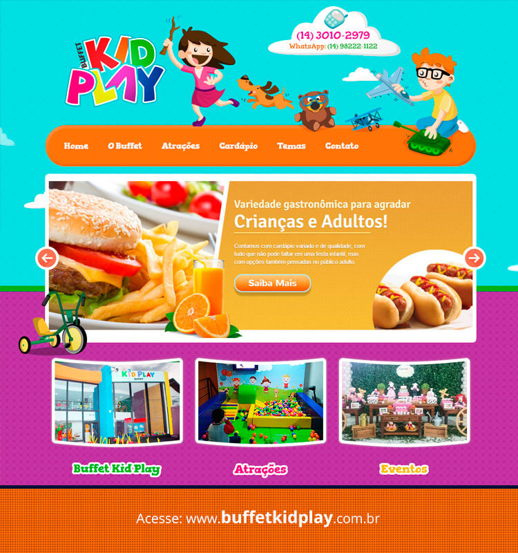 Portfolio Site Buffet Kid Play