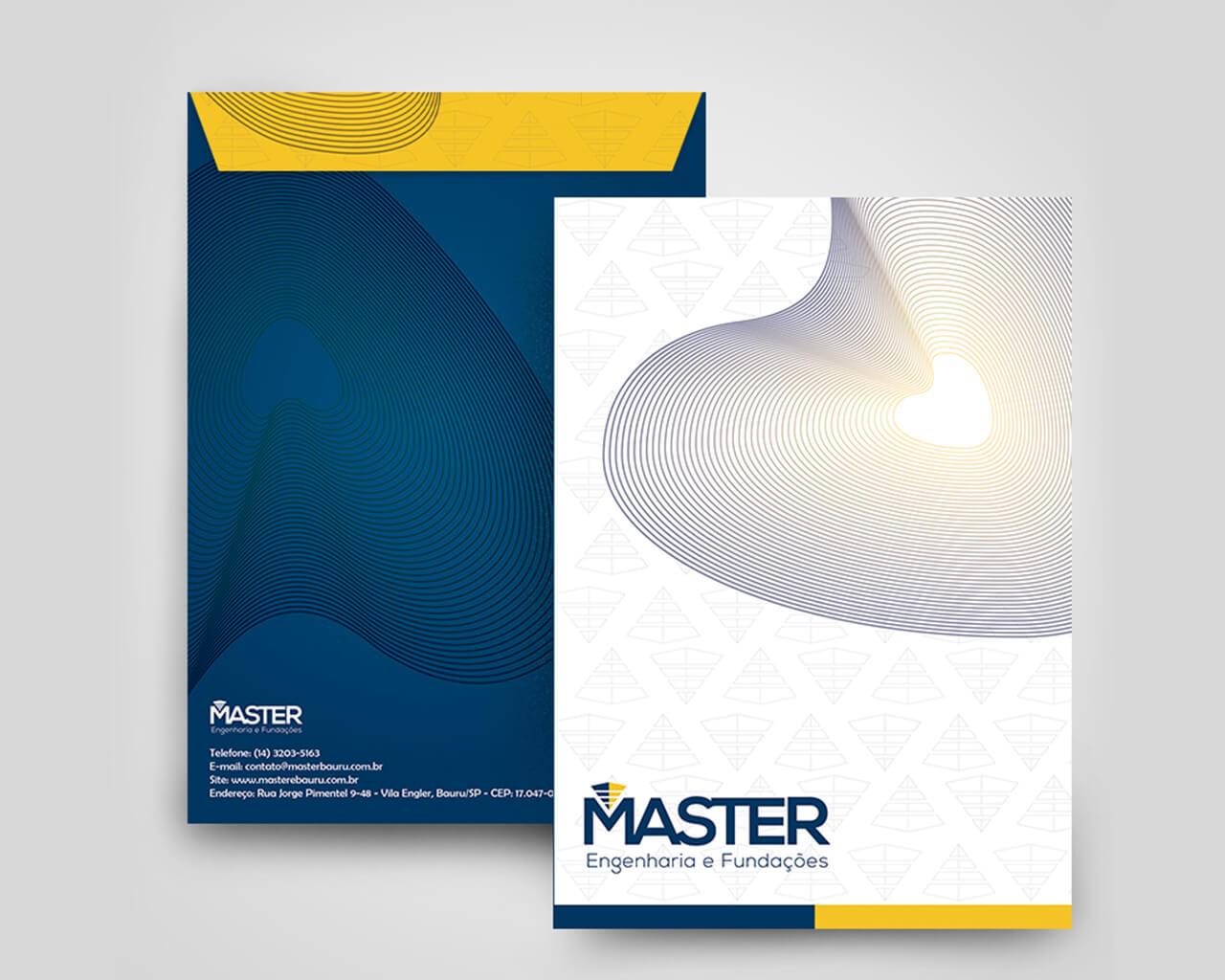Portfolio Identidade Visual Master
