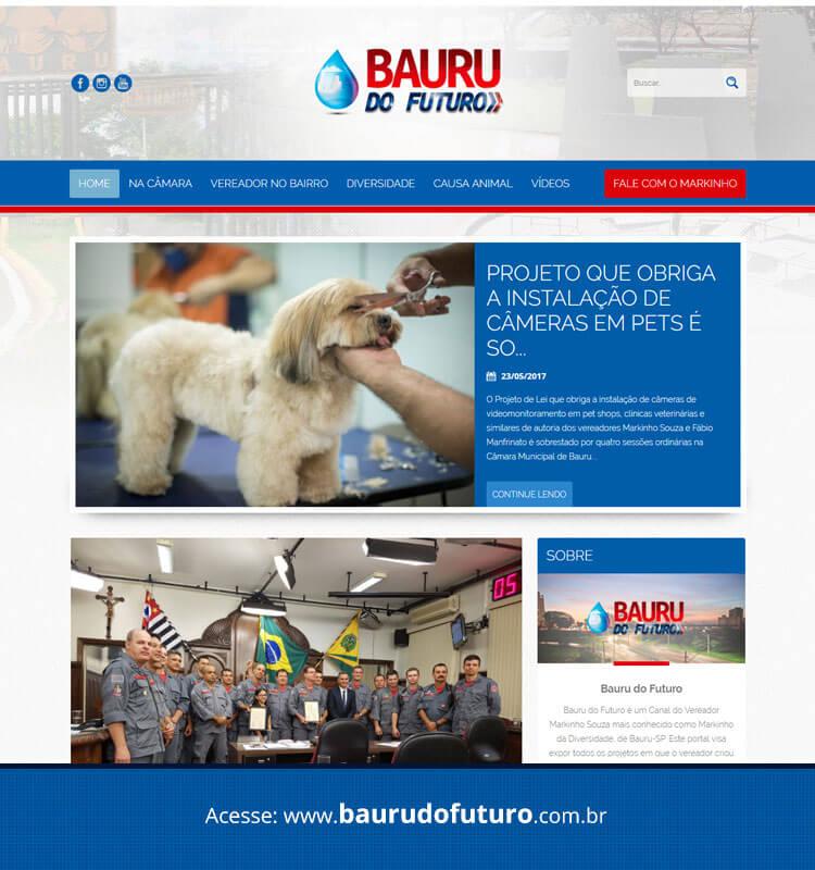 Portfolio Site Bauru do Futuro