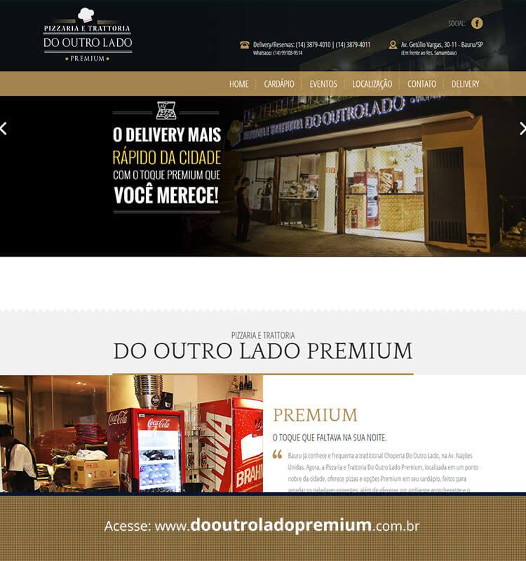 Portfolio Site Do Outro Lado Premium