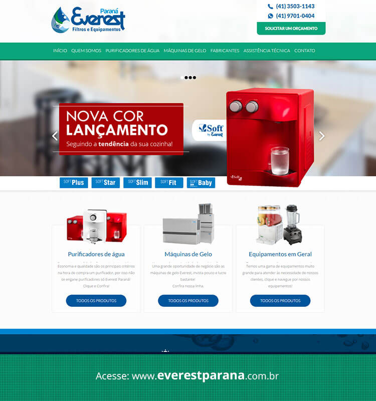 Portfolio Site Everest Paraná