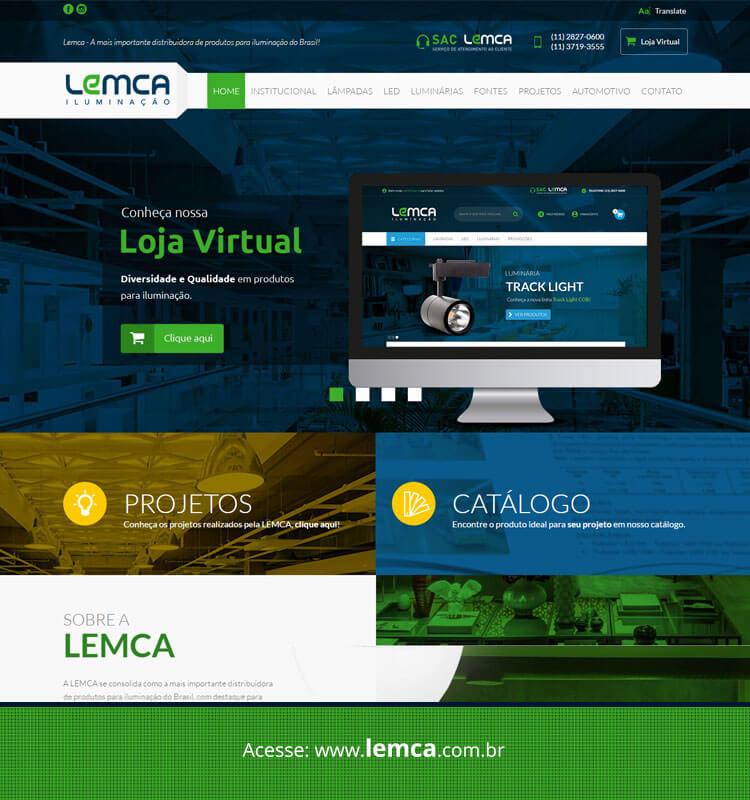 Portfolio Site Lemca