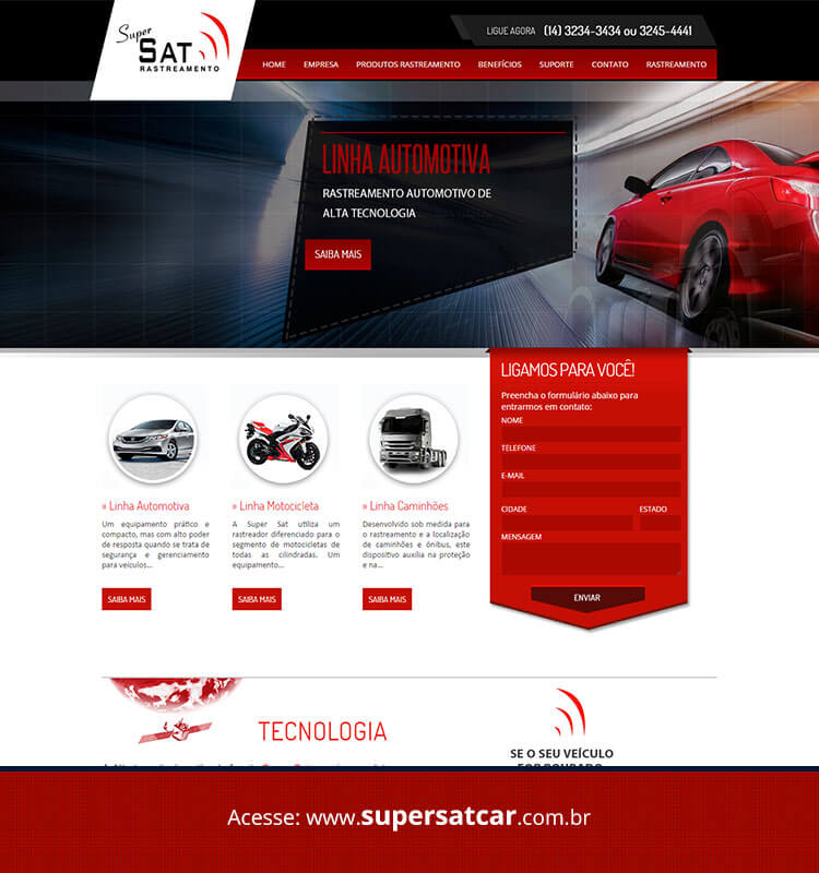Portfolio Site Supersatcar