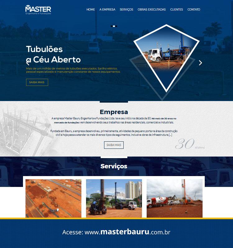 Portfolio Site Master Bauru