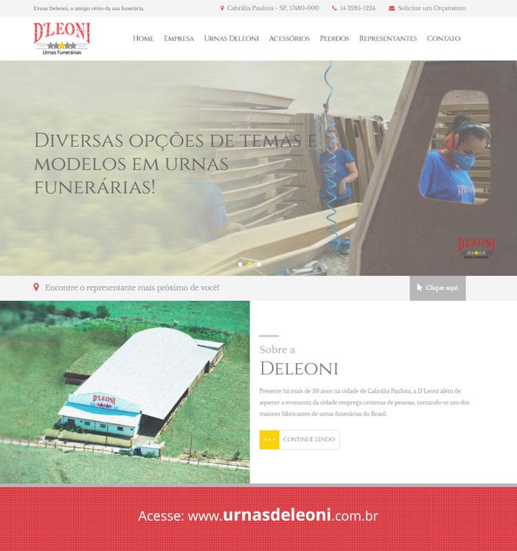 Portfolio Site Urnas Deleoni