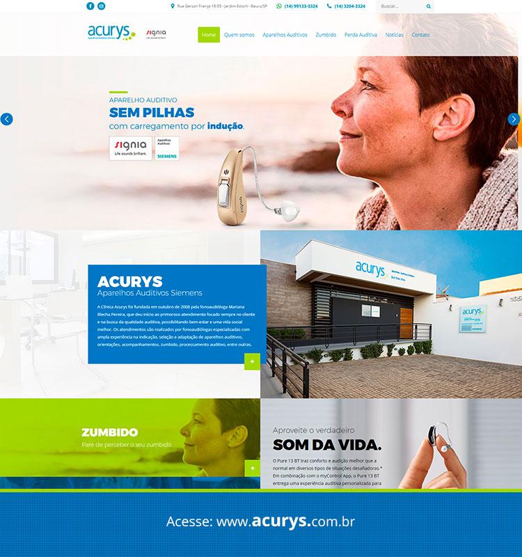 Portfolio Site Acurys