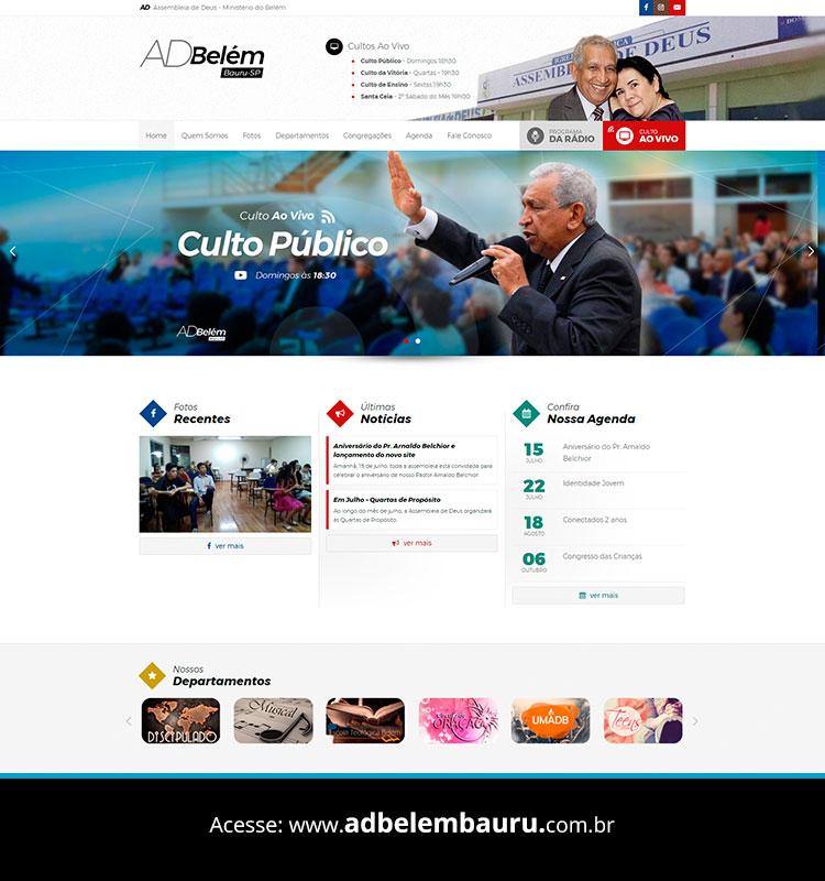 Portfolio Site ADBelém