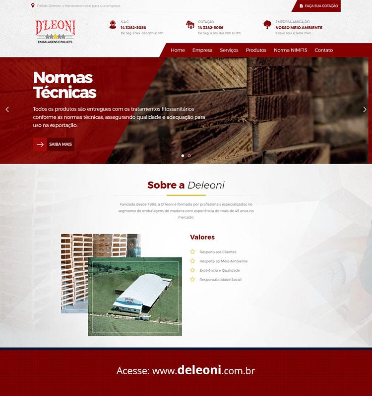 Portfolio Site Deleoni Pallets