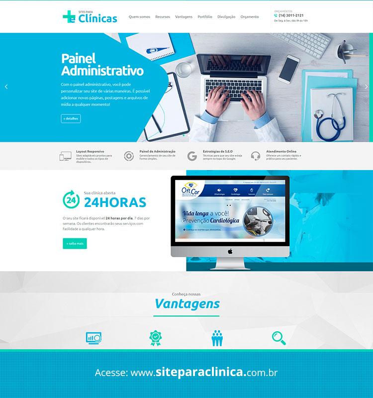 Portfolio Site Para Clinicas