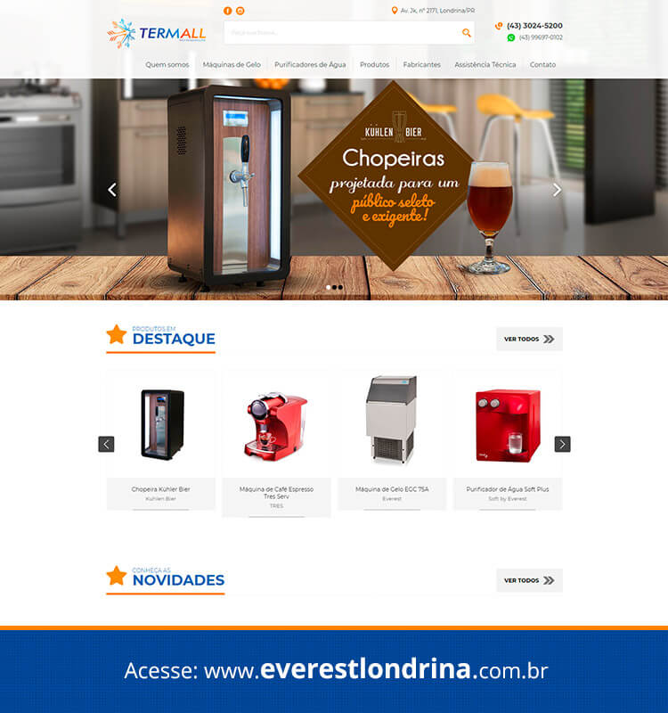 Portfolio Site Everest Londrina