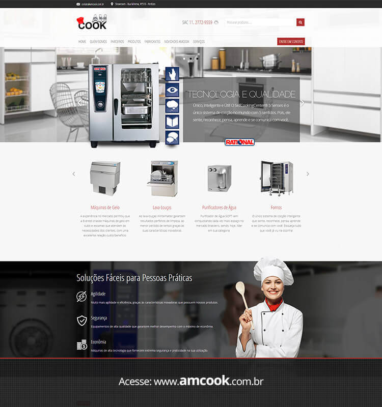 Portfolio Site AM Cook