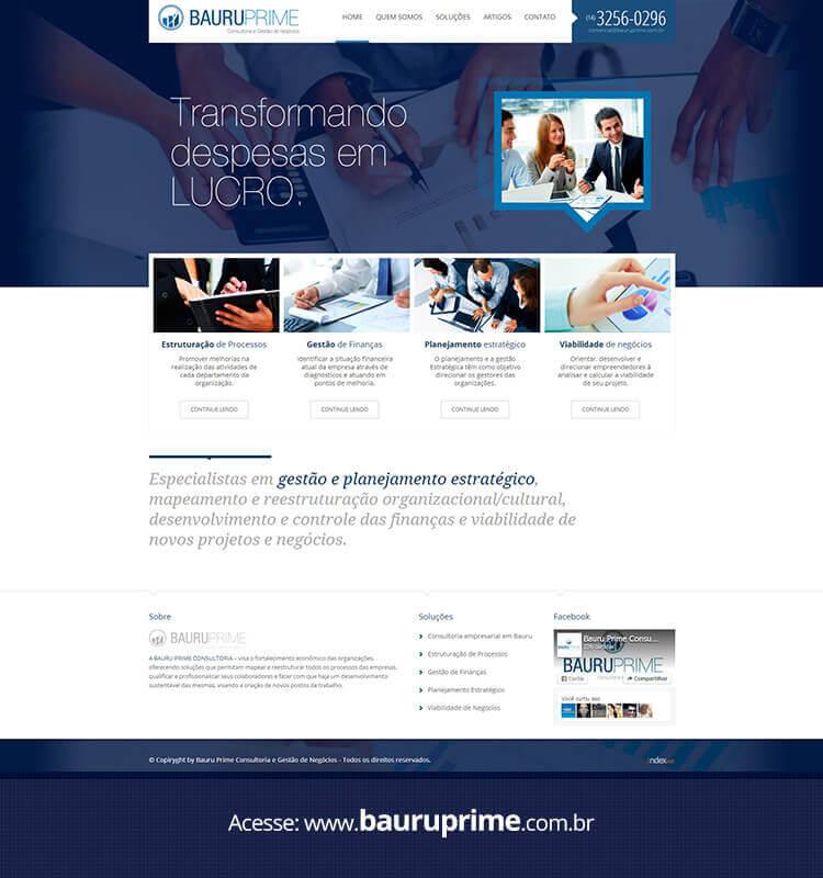 Portfolio Site Bauru Prime