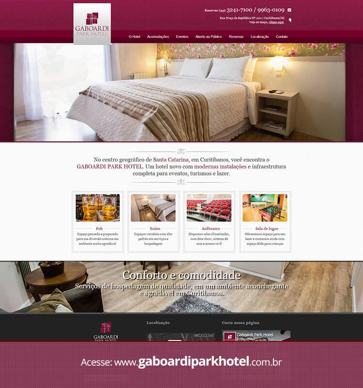 Portfolio Site Gaboardi Park Hotel