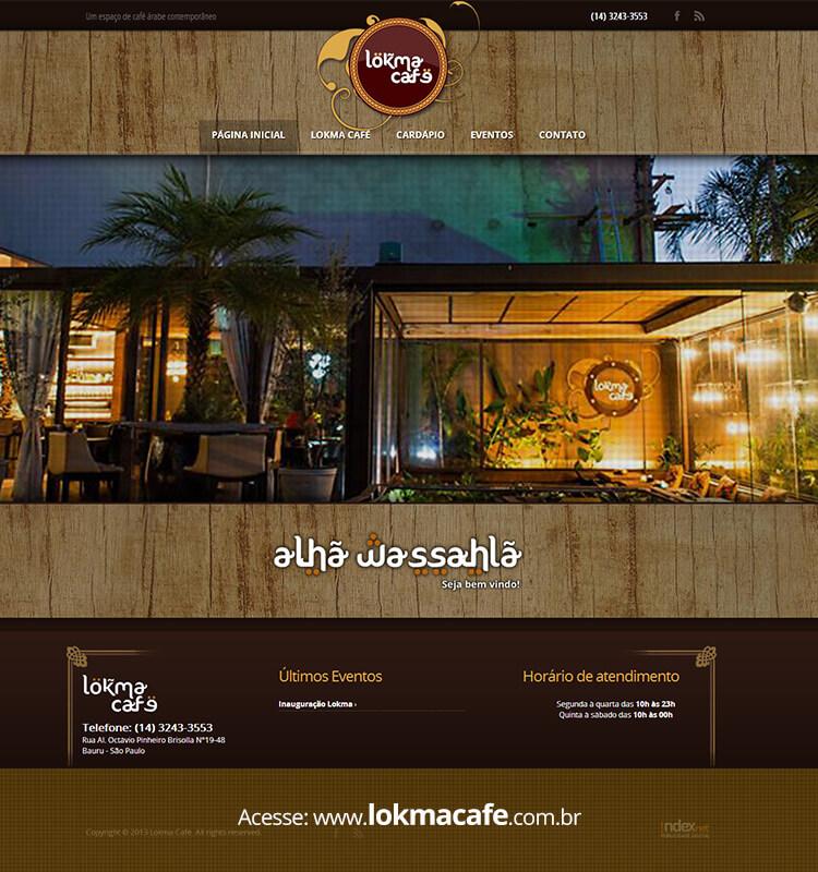 Portfolio Site Lokma Café