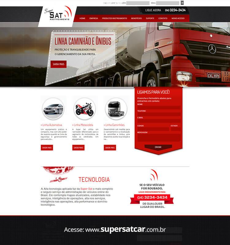 Portfolio Site Super Sat