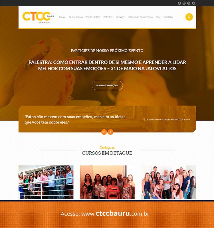 Portfolio Site CTCC Bauru