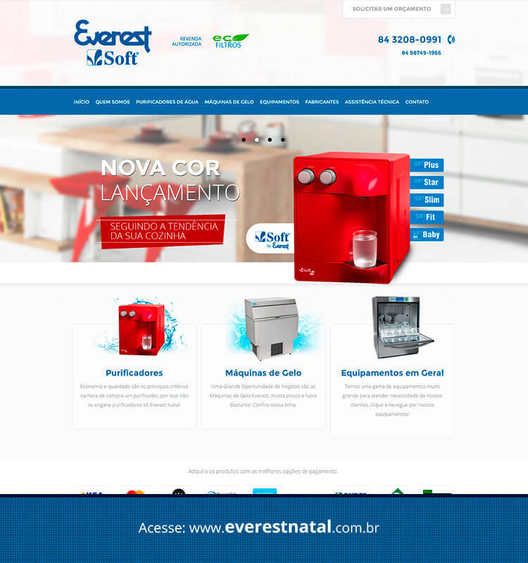Portfolio Site Everest Natal