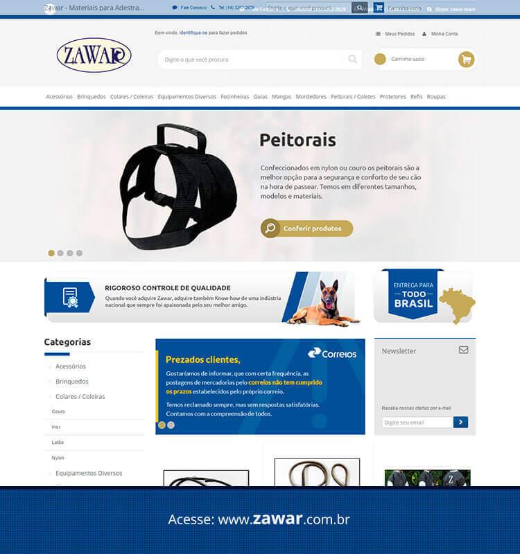 Portfolio Site Zawar