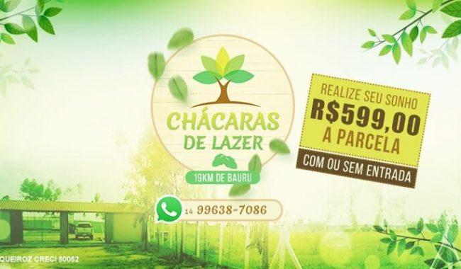 Chácaras de Lazer – Divulgar no Facebook Criar Fanpage agencia de publicidade digital facebook para empresas bauru