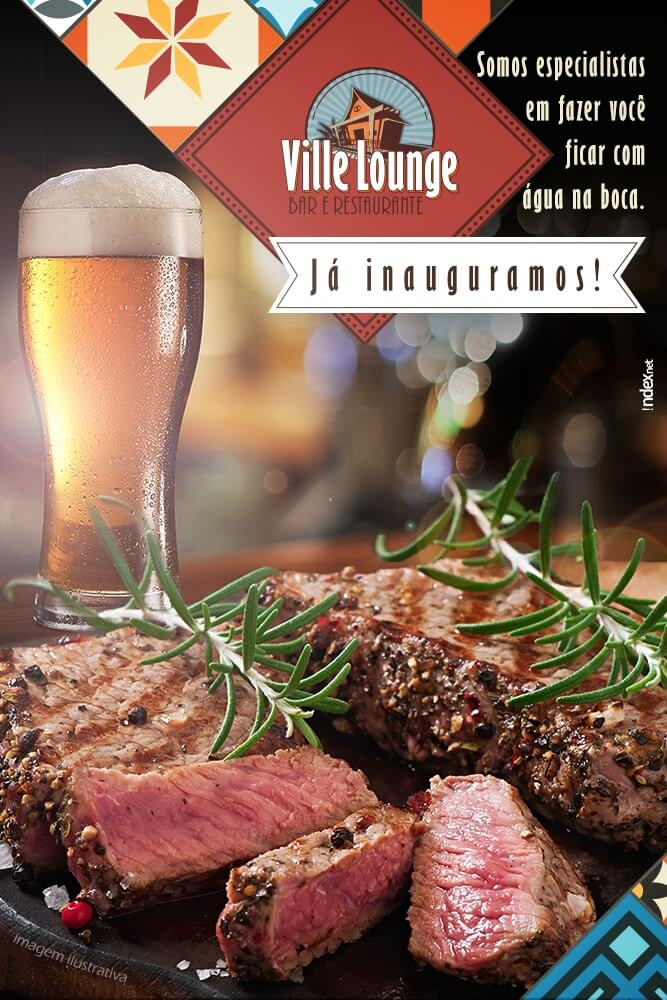 Ville Lounge – Divulgar no Facebook Criar Fanpage agencia de publicidade digital facebook para empresas bauru