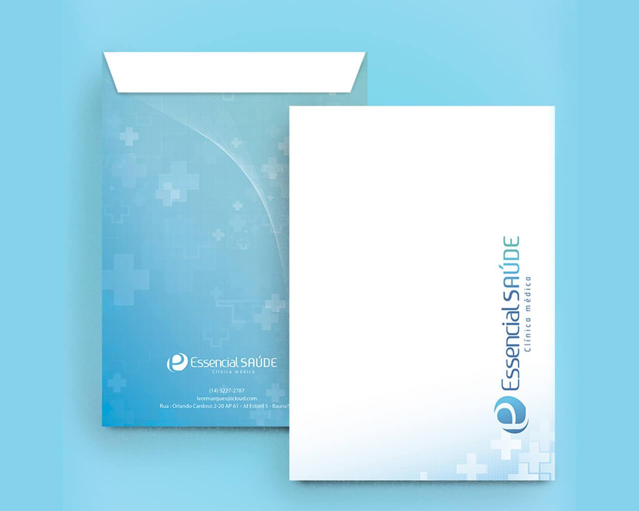 Portfolio Identidade Visual Essencial Saúde