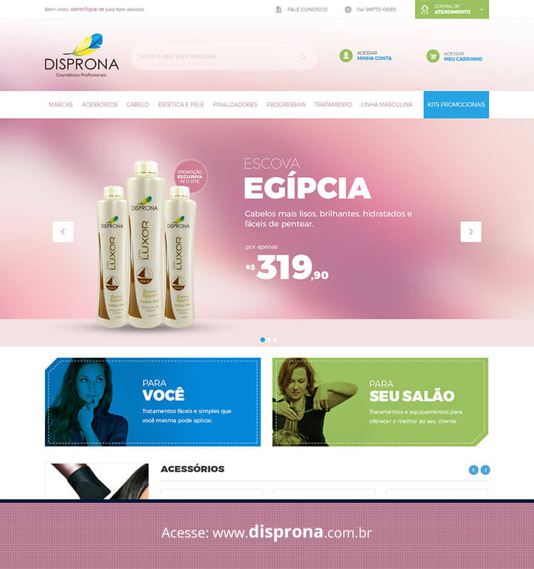 Portfolio Site Disprona
