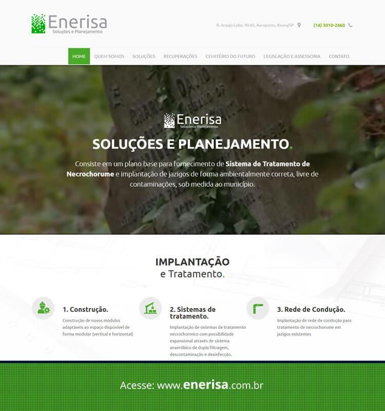 Portfolio Site Enerisa