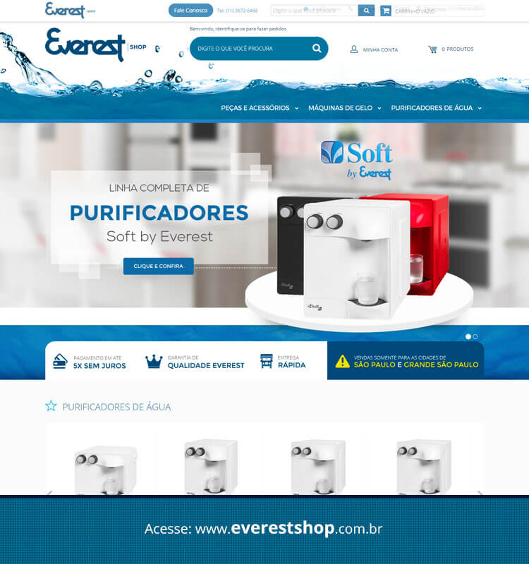 Portfolio Site Everest Shop
