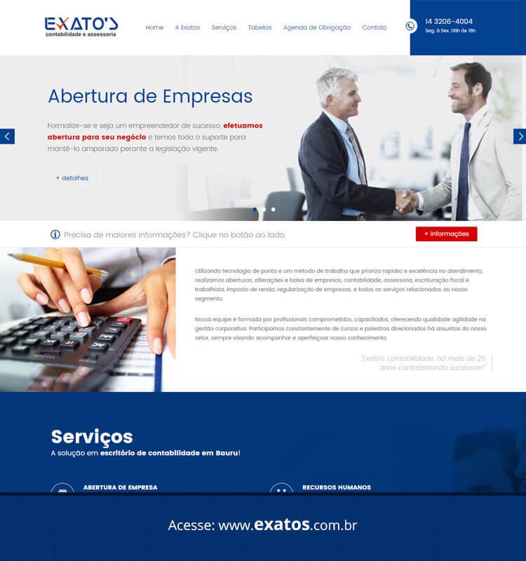 Portfolio Site Exatos