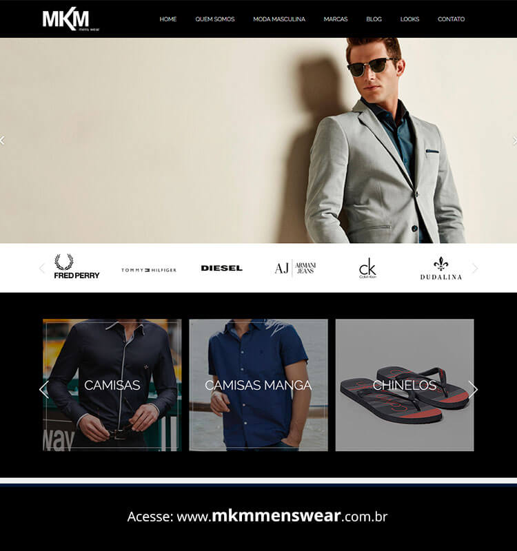 Portfolio Site MKM Men's Wear