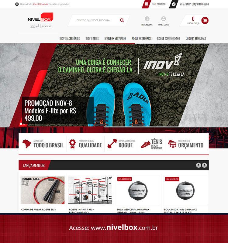 Portfolio Site Nivelbox
