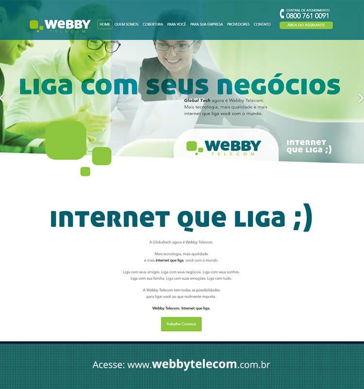 Portfolio Site Webby Telecom