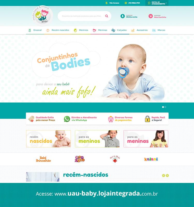 Portfolio Site Uau Baby