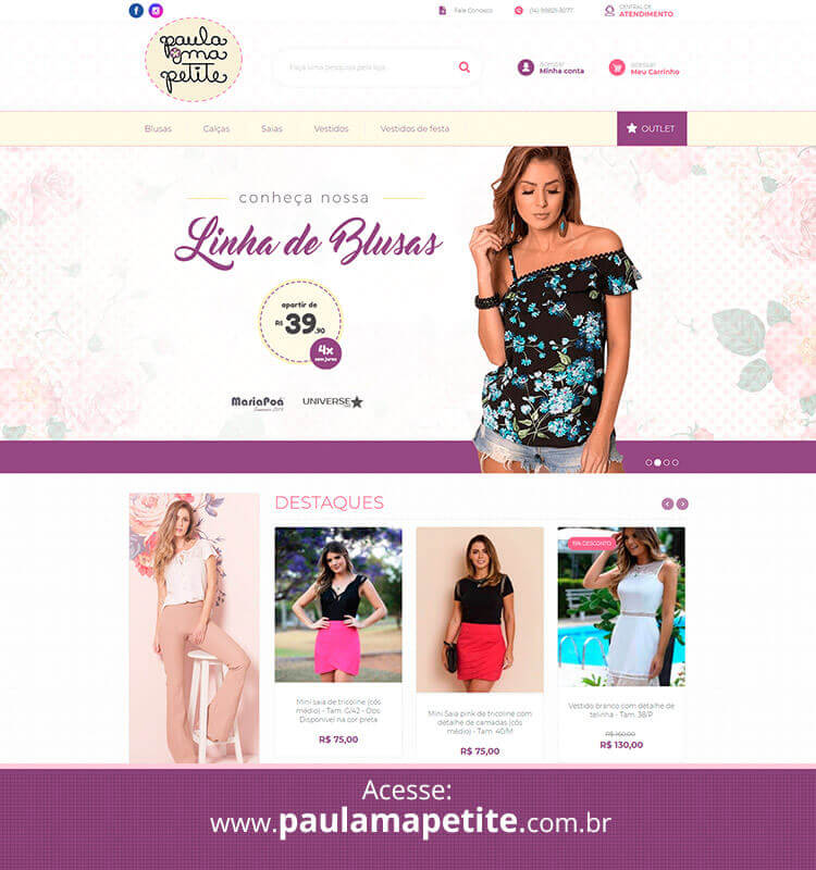Portfolio Site Paula Ma Petite