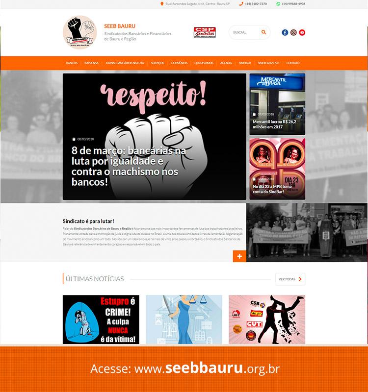 Portfolio Site SEEB Bauru
