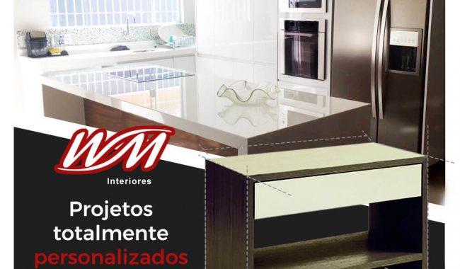 WM Interiores – Divulgar no Facebook Criar Fanpage agencia de publicidade digital facebook para empresas bauru