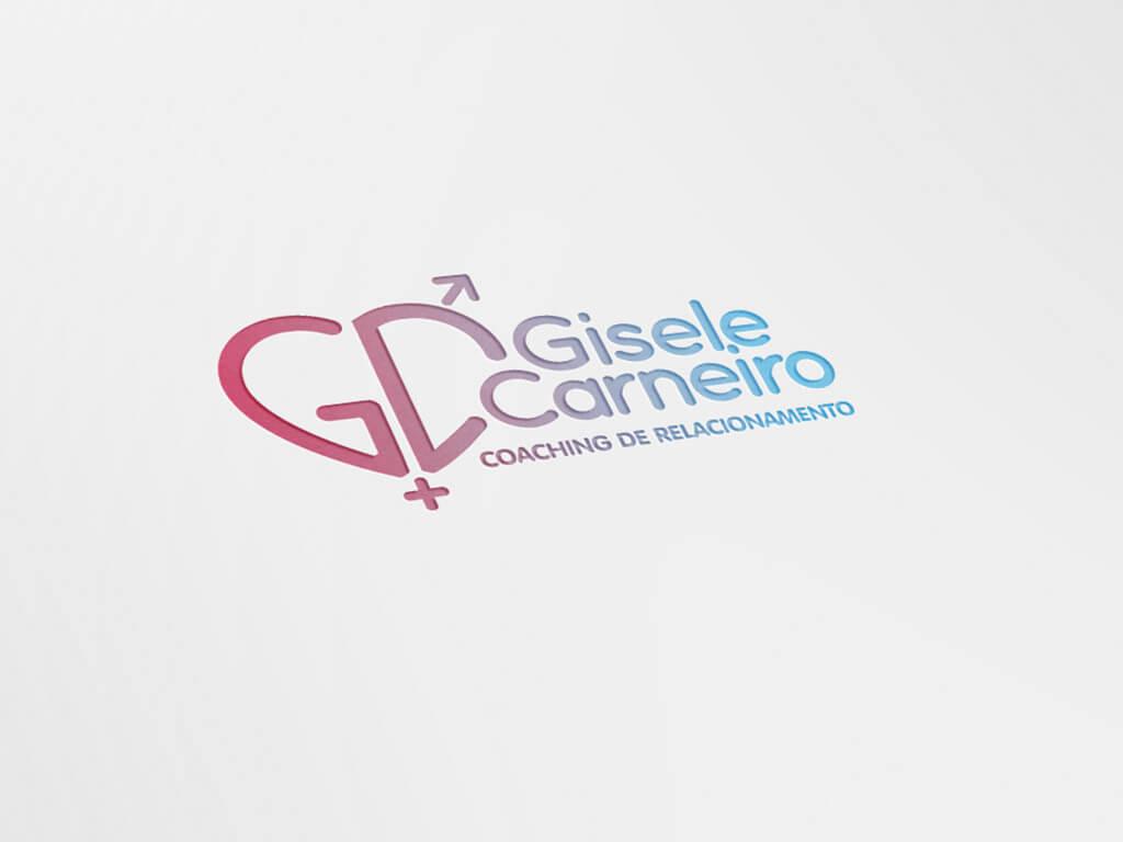 Portfolio Identidade Visual Gisele Carneiro Coaching de Relacionamentos