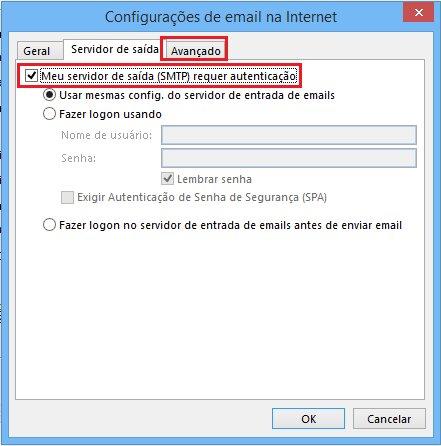 Passo 06 - Configuração de E-mail Outlook 2016